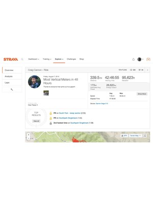Many big rides exist on Strava. But there is none quite like this