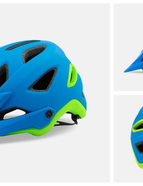 The new Giro Montaro MIPS in matt blue/lime