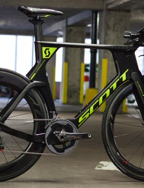 A full-blown time trial bike will have a more extreme riding position than most roadies are used to