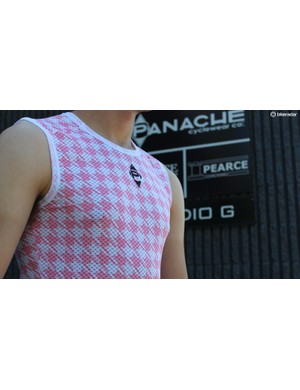 Panache altered the ink viscosities and sublimation heat levels to keep the wicking performance high and the material soft