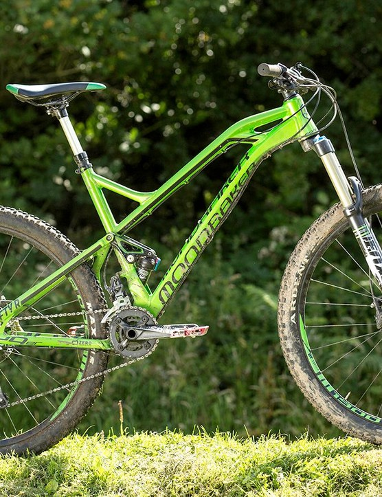 The Mondraker Crafty R is one huge bike thanks to the Spanish firm's Forward Geometry concept
