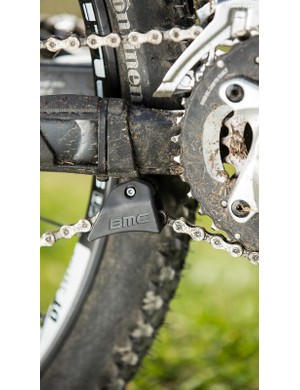 A built-in carbon chain-drop guard is a nice addition