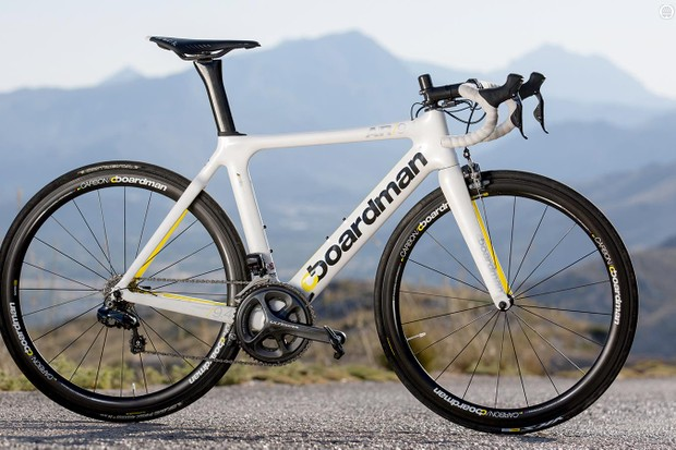 Boardman AiR 9.4 Di2 handled itself well in our TT bike test in Majorca