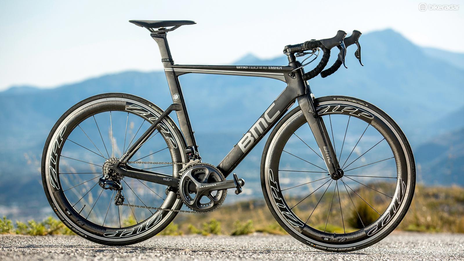 BMC's Aero TMR01 Ultegra Di2 is an uncompromising ride, but a massively rewarding one