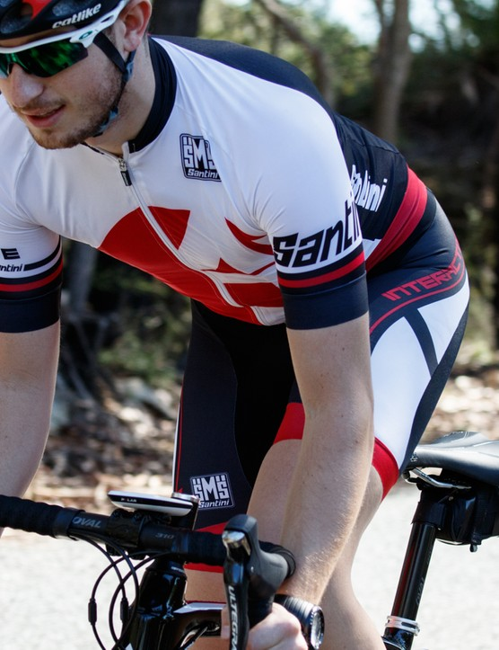 The thin and lightweight Interactive 2.0 kit is cut super slim, though it's much more flattering than a true skinsuit
