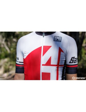 The front of the jersey is made from Artico fabric, which is akin to any summerweight skinsuit you may have worn in the past