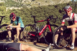 The S3 powered up the steep gradients of our Majorca test ride