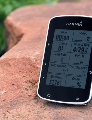 Garmin's new Edge 520 is just a hair smaller than the 510 while adding a higher-resolution display