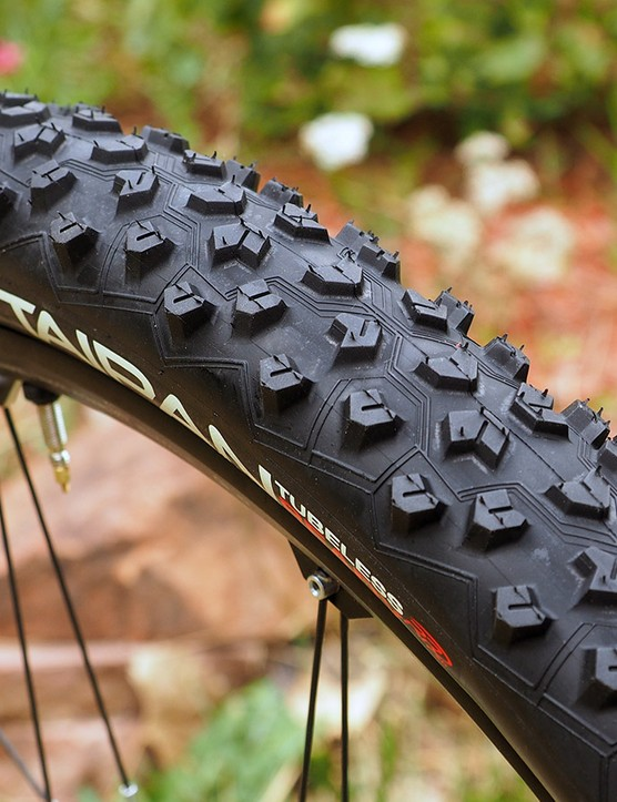 Hutchinson says the new Taipan tread is a true all-rounder, offering good grip and a reasonably fast roll in nearly all conditions