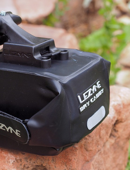 Having trouble keeping your repair items dry on mountain bike rides? Try Lezyne's Dry Caddy