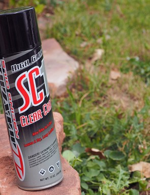Maxima markets the SC1 silicone spray as a cleaner and polisher but it apparently works well for improving the small-bump sensitivity for suspension components, too