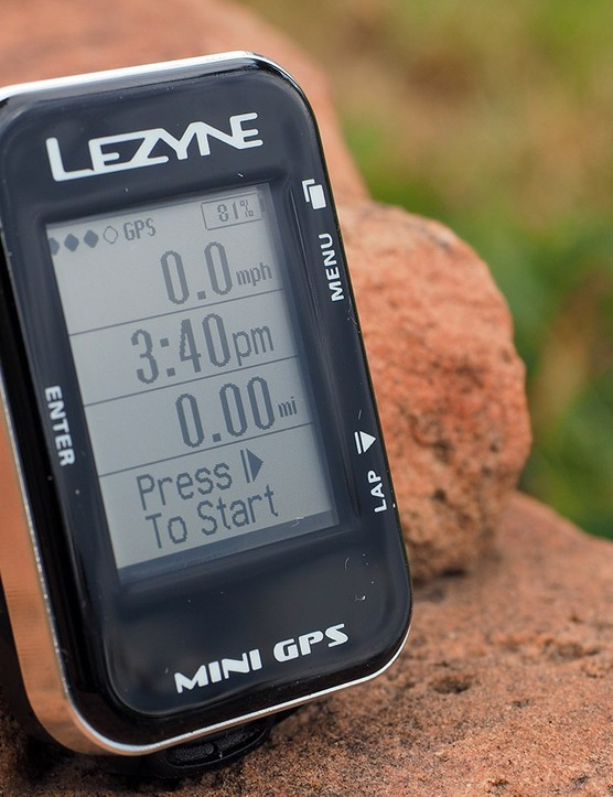 Lezyne's new Mini GPS computer is indeed super tiny, barely bigger than a Tic-Tac box