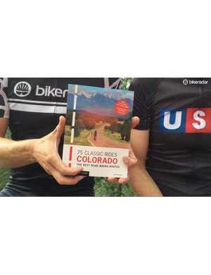 Sumner's book details many of the great rides in Colorado. The Farewell Fondo pieced together a few of them for one big ride
