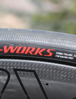 Some of my colleagues have found the S-Works clinchers to be too thin, but I love the supple feel
