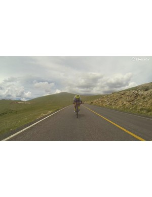 Trail Ridge Road is the highest continuous highway in the US. Much of it is well above treeline