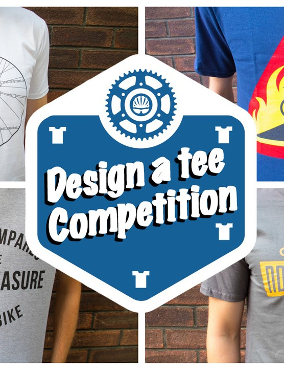 Design your own cycling T-shirt and you could win £100 in vouchers