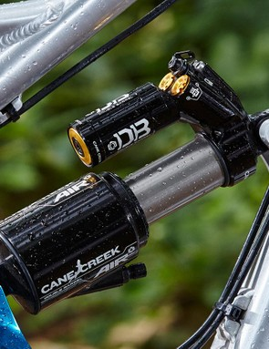 Take some time to get the shock dialled in and the suspension action is excellent