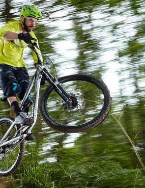 Only if you're absolutely caning it on DH tracks are you likely to hit the limits of the Balance's capabilities