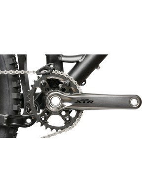 With an open bottom, the new guide is said to work with oval-shaped chainrings too