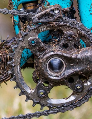 Severe conditions are one reason to add a chain guide to your 1x setup