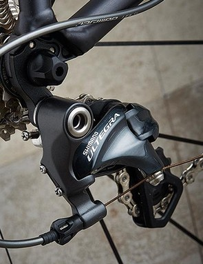 Full Ultegra (well, almost full) delivered quality shifting and consistent, powerful braking