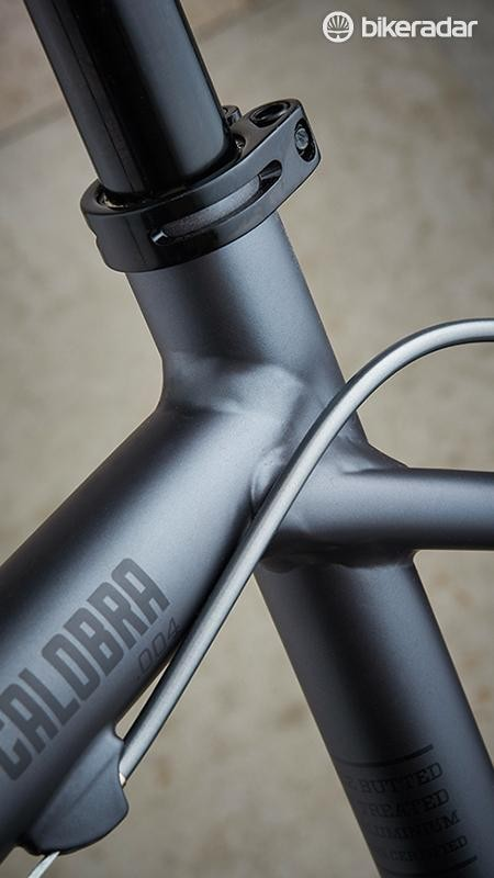 The Hoy's frame is neatly finished – and very understated