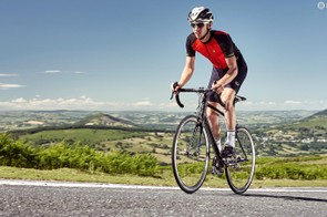 Slightly narrow 12-27t gearing means you'll soon be familiar with getting out of the saddle