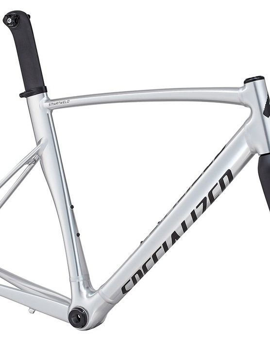 Also available is a bare Specialized Allez Sprint SL frameset with a sleek polished finish that not only looks fantastic but will save a fair bit of weight, too