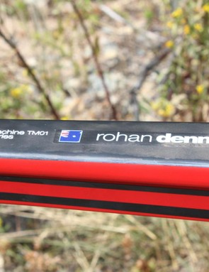 Dennis rode a custom BMC trackmachine for his hour record earlier this year