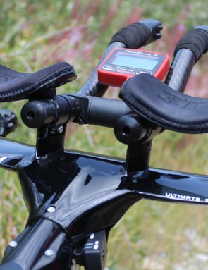 No wires or cables to see here on the svelte 3T cockpit. Dennis raced with SRM's new PC8; this PC7 was being used to calibrate the SRM