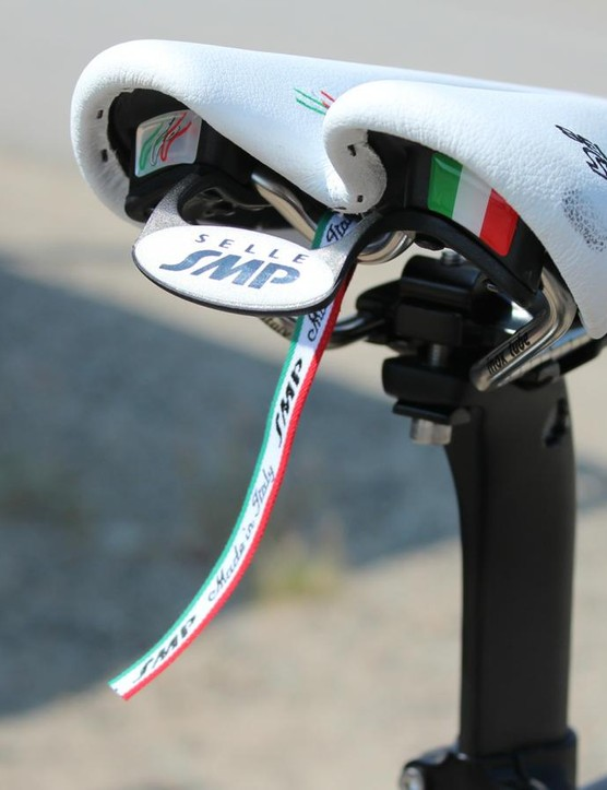 Robin Farina flies the flag for Selle SMP