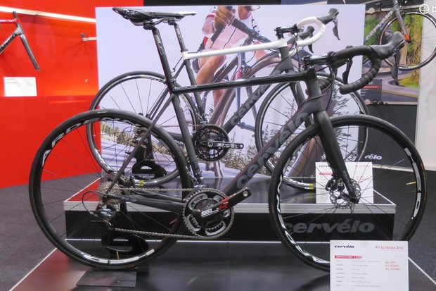 The all-new Cervélo R3 disc will retail for £3,799 for a Shimano Ultegra build with HED Ardennes wheels, SL-K cranks, post and Energy bars