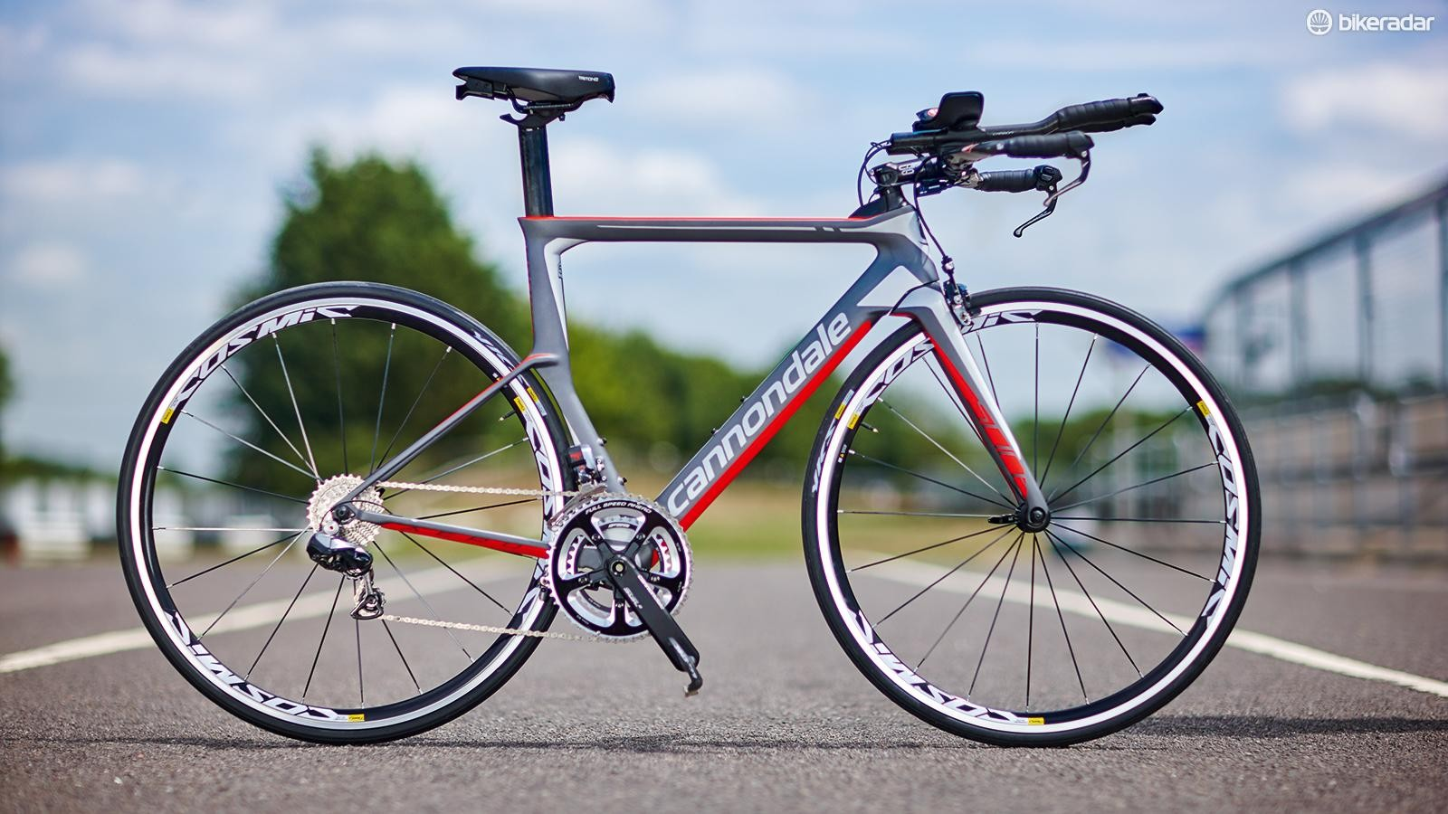 Cannondale's Slice Dura-Ace Di2 is a light and nimble ride