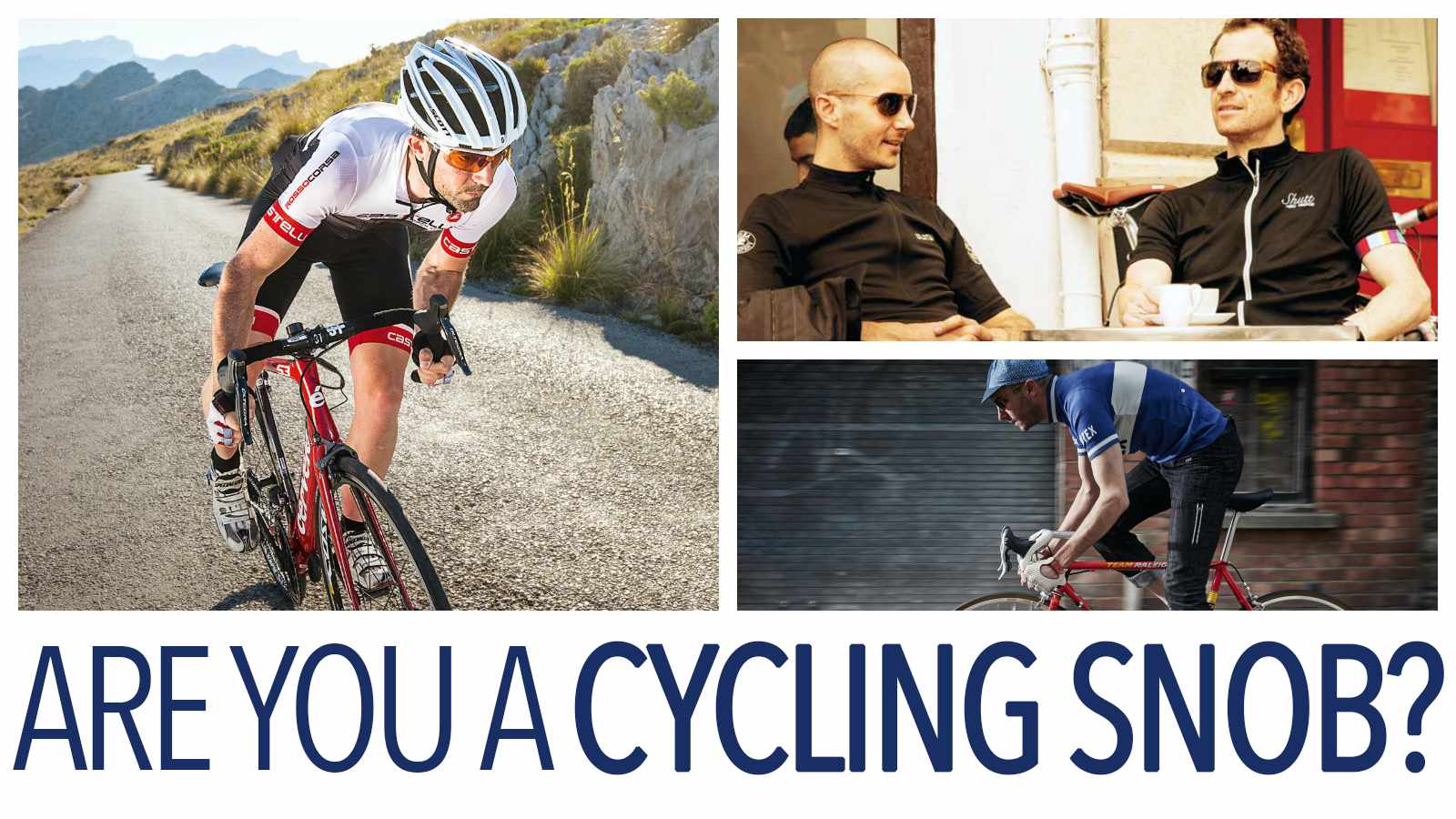 Find out your level of cycling snobbery with our quiz