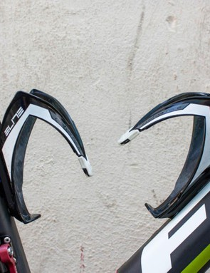 Elite bottle cages are a pro staple