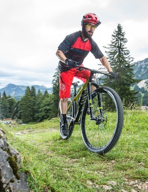 The Exceed feels sprightly and efficient on the climbs