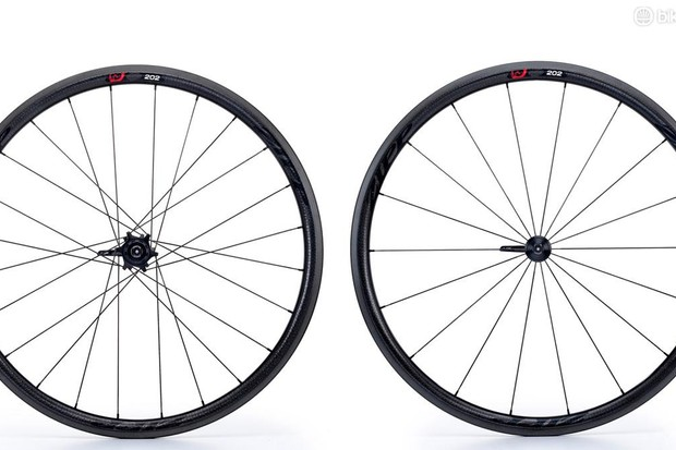 Zipp 202 Firecrest clincher wheels are now £1680/$2100 a pair