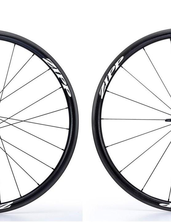 The 202 is Zipp's aero climbing wheel – these clinchers tip the scales at 1450g a pair