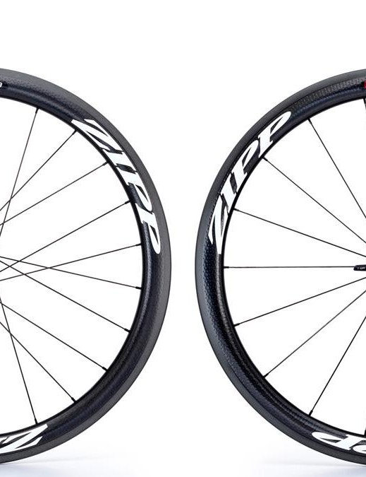 The 303 Clincher is availble with both all-black or white graphics (as shown here)
