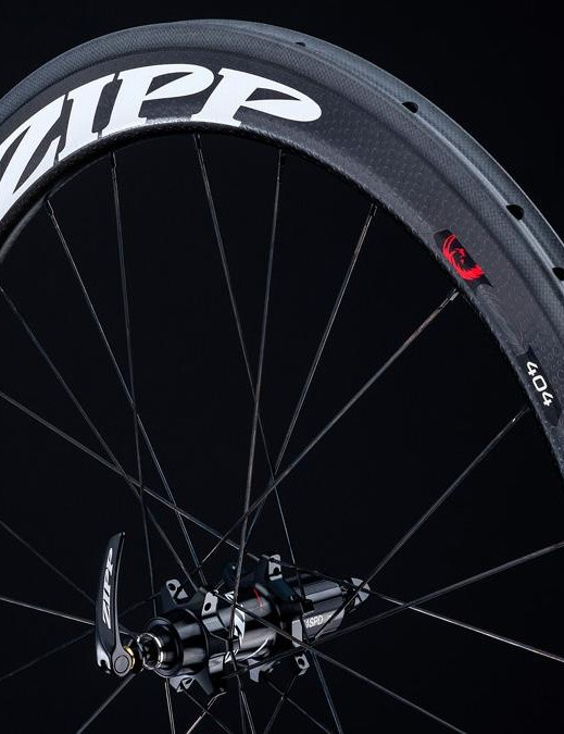 The 58mm deep and 26.5mm wide 404 is one of the fastest road wheels around
