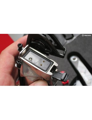 The battery ports have a clip-and-click lockdown retention mechanisim