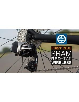SRAM's new Red eTap wireless rear derailleur