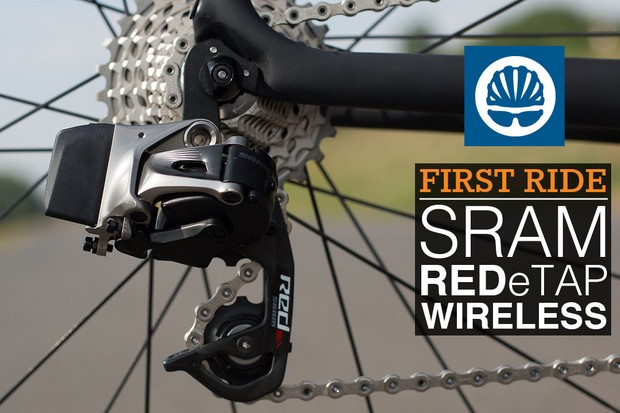 SRAM's new Red eTap wireless rear derailleur