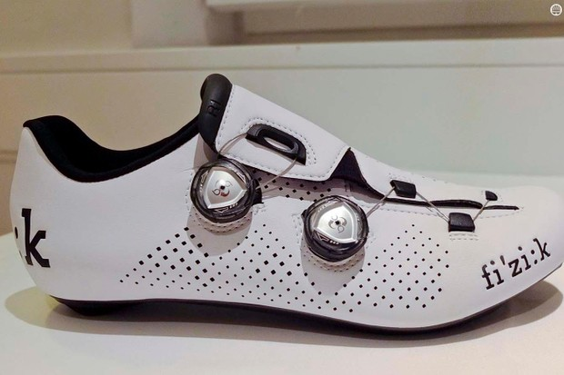 The new Fizik R1 uses twin BOAs for a fit Fizik describes as volume control