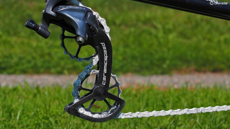 CeramicSpeed Oversized Pulley Wheel System claimed to save