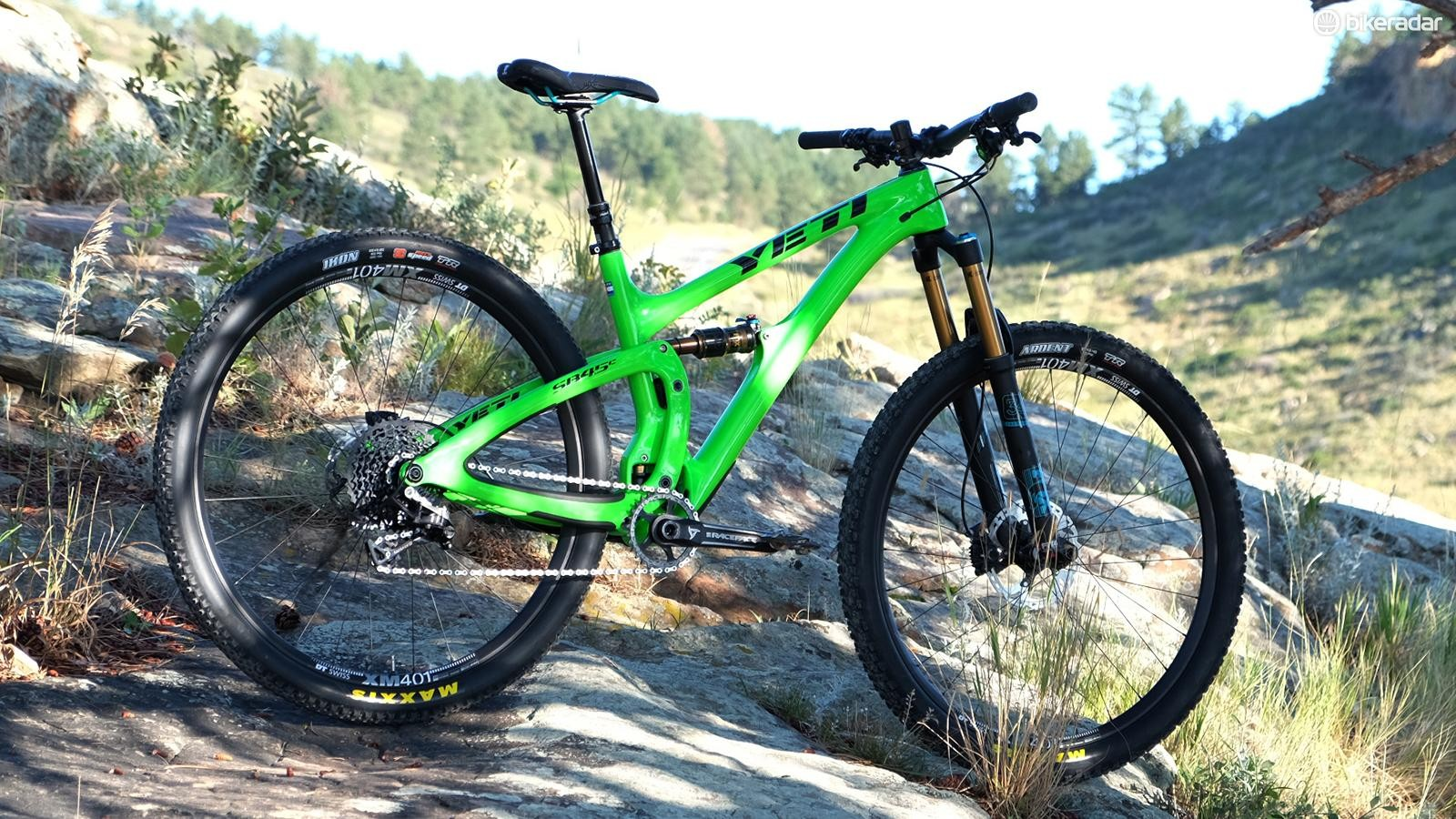 The Yeti SB4.5c is a short travel trail bike with a lot of potential