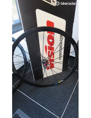 The new Trimax 35 wheels from Vision feature a wider profile rim