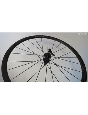 The base-model Team 30 all alloy wheelset tip the scales at 1920g a pair