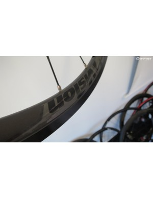 The Team 35's rim has a blunted aero shape to match its new wider track