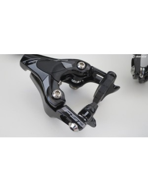 The aero-shaped direct mount brake